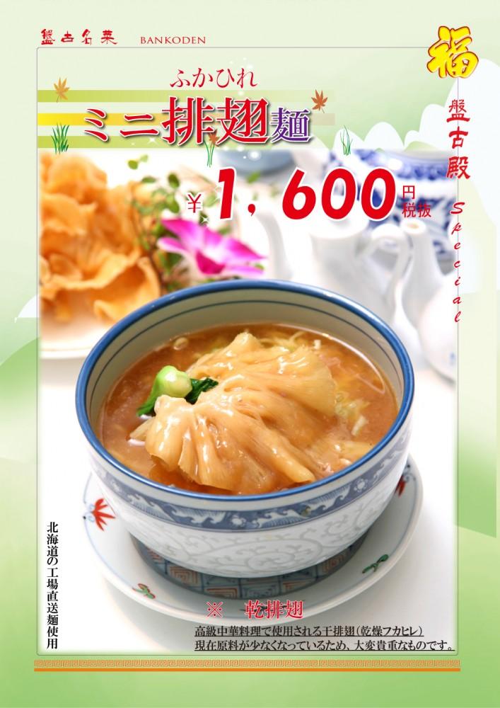 ミニふかひれ麺