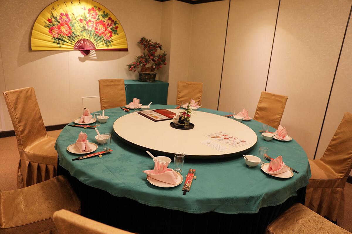 新横浜で大人数での忘年会、新年会といえば最大420人収容できる盤古殿